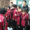 平成25年度卒団式