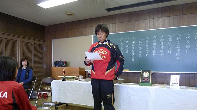 卒団式-3