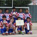 第1回瀬崎ガールズフェスティバル(U-10)準優勝!